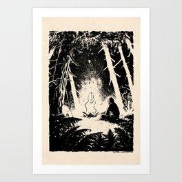Slav by Anna Helena Szymborska Art Print