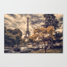 La Tour Eiffel_01 Canvas Print