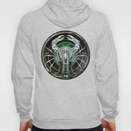 """Astrological Mechanism - Cancer"" Hoody"