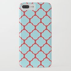 clover (blue and red) Slim Case iPhone 7 Plus