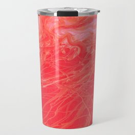 Paint Pouring 2 Travel Mug