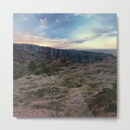 Somerset Sunset Metal Print