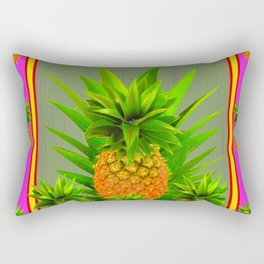 PINK HAWAIIAN PUNCH COLOR PINEAPPLE ART Rectangular Pillow