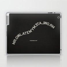 Palindrome: Mr. Owl Laptop & iPad Skin