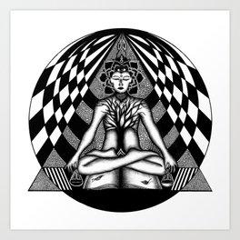 [sahasrara] Art Print