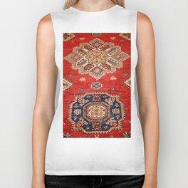 Natural Dyed Handmade Anatolian Carpet Biker Tank