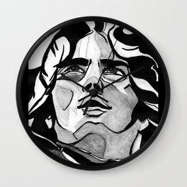 Mann Portrait  Wall Clock