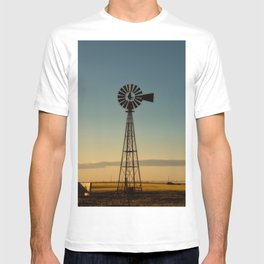 Sunset Windmill T-shirt