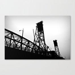 Bridge City, No. 2 Canvas Print