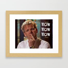 So Disappointed Framed Art Print