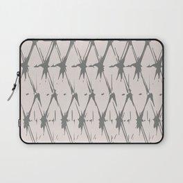 Boho Tribal Pattern, Beige and Brown Laptop Sleeve