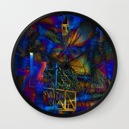 A Glimpse Of What Could Be Wall Clock
