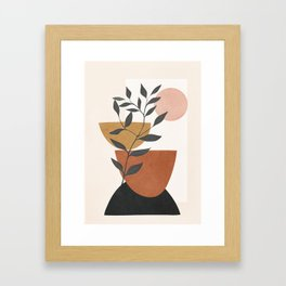 Branch and Elements Framed Art Print