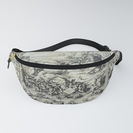 The revolt in heaven Fanny Pack