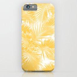Tropical Palm Leaf Jungle #3 #tropical #decor #art #society6 iPhone Case