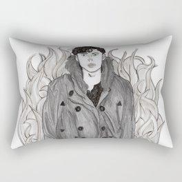 The Arsonist Rectangular Pillow