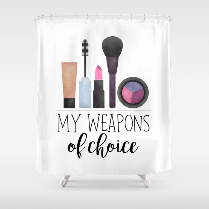 Makeup Shower Curtain By Avenger