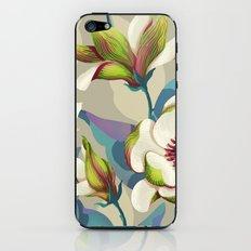 magnolia bloom - vivid version iPhone & iPod Skin