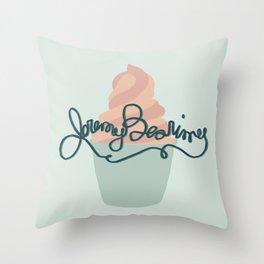 Froyo Jeremy Bearimy Throw Pillow