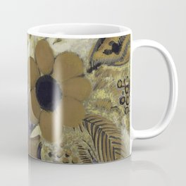 Etruscan Vase with Flowers - Odilon Redon Coffee Mug