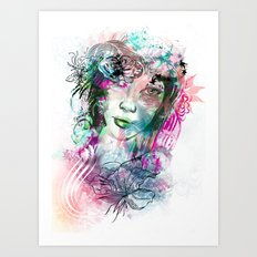 Bride2 Art Print
