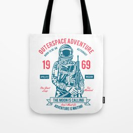 Outer space Adventure - Born to be an astronaut Tote Bag