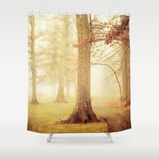 I Heard Whispering in the Woods Shower Curtain