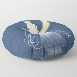 Moon Princess Floor Pillow