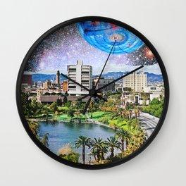 Cosmic Highway Wall Clock