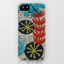 pond collage iPhone Case