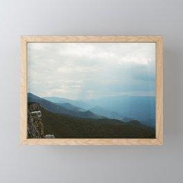 North Fork Mountain; West Virginia Framed Mini Art Print
