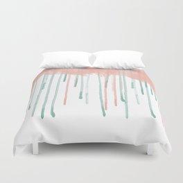 Watercolour rain Duvet Cover