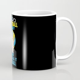 If Volleyball was Easy They'd Call it Football - Gift Coffee Mug