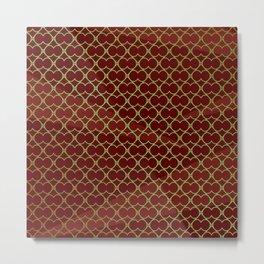 Moroccan gold texture #society6 #decor #buyart #artprint Metal Print