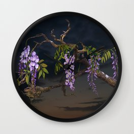 Cogan's Wisteria Wall Clock
