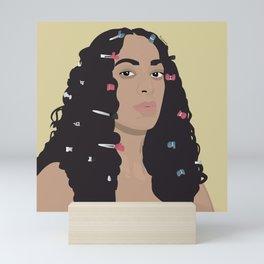 Solange Mini Art Print