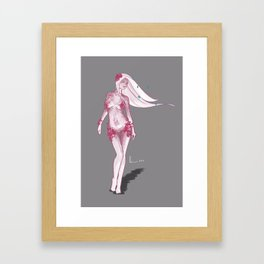 Nymph Dark  Framed Art Print