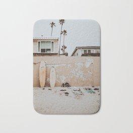 lets surf viii / san diego, california Bath Mat