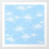 Always Cloudy Art Print