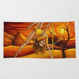 Pole Stars - LEO Beach Towel