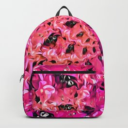 Magenta Spirals Backpack