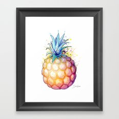 Fat Pineapple 2 Framed Art Print