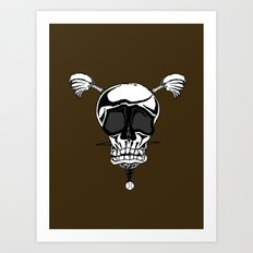 Baseball Skulls and Trebuchet's Art Print