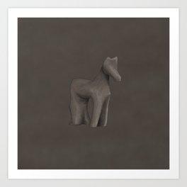 Wooden horse - Blade Runner 2049 Art Print