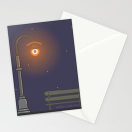 street l.eye.ght Stationery Cards