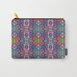 Fractal Art Stained Glass G311 Carry-All Pouch
