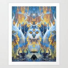 Moon Rhapsody Art Print