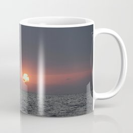 Sunset open sea Coffee Mug