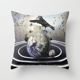 My Orbit Throw Pillow