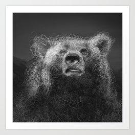 Sacred Bear Art Print